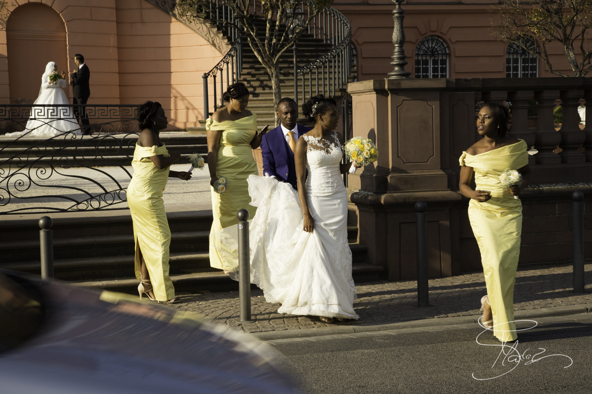 Brides at the Biebricher Schloss. African-wedding-reception-club-eleganz-mainz-Germany-606
