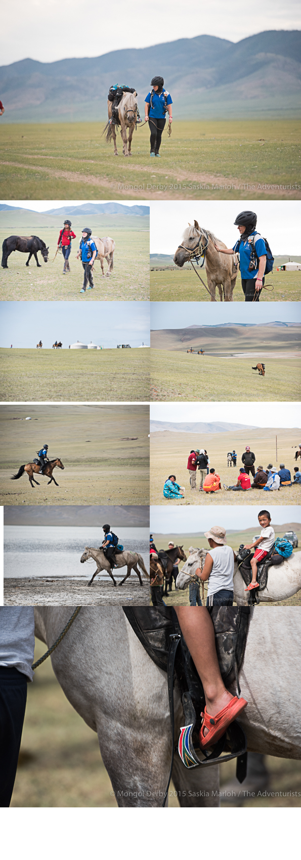 Byeronie Epstein, winner of the Mongol Derby 2015 photos by Saskia Marloh