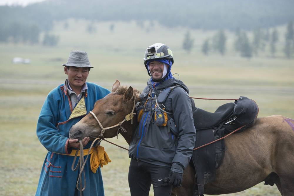 Patrick Sells, place 7 of the Mongol Derby 2015 photos by Saskia Marloh
