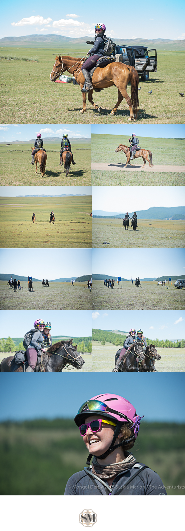 Cassie Ekert at the Mongol Derby 2015 photos by Saskia Marloh