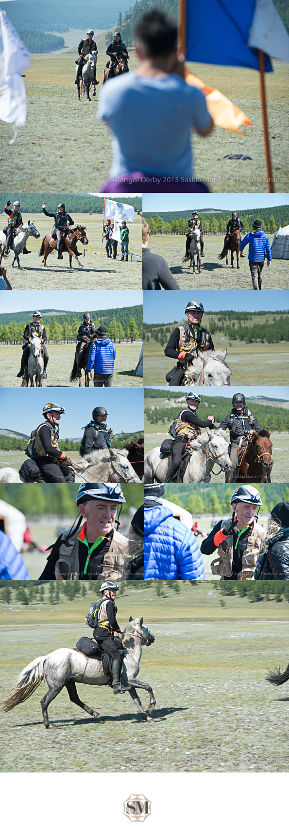 Paddy Woods, place 10 of the Mongol Derby 2015 photos by Saskia Marloh