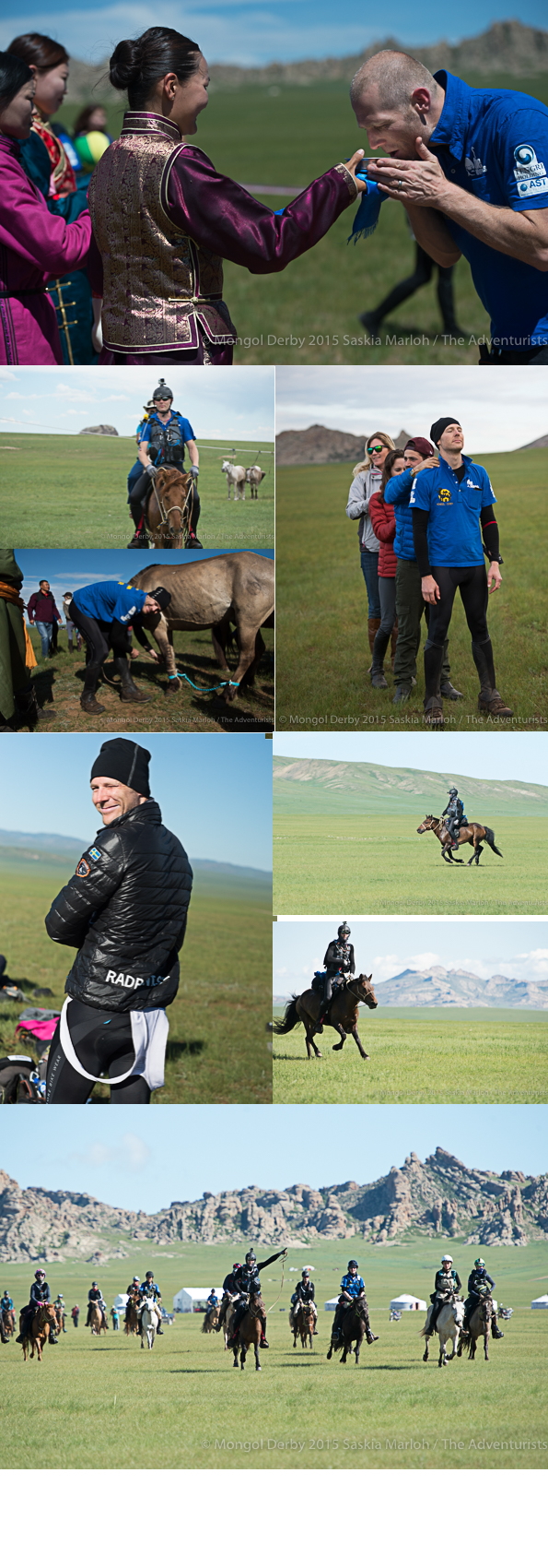 Thomas Ellingsen, place8 of the Mongol Derby 2015 photos by Saskia Marloh