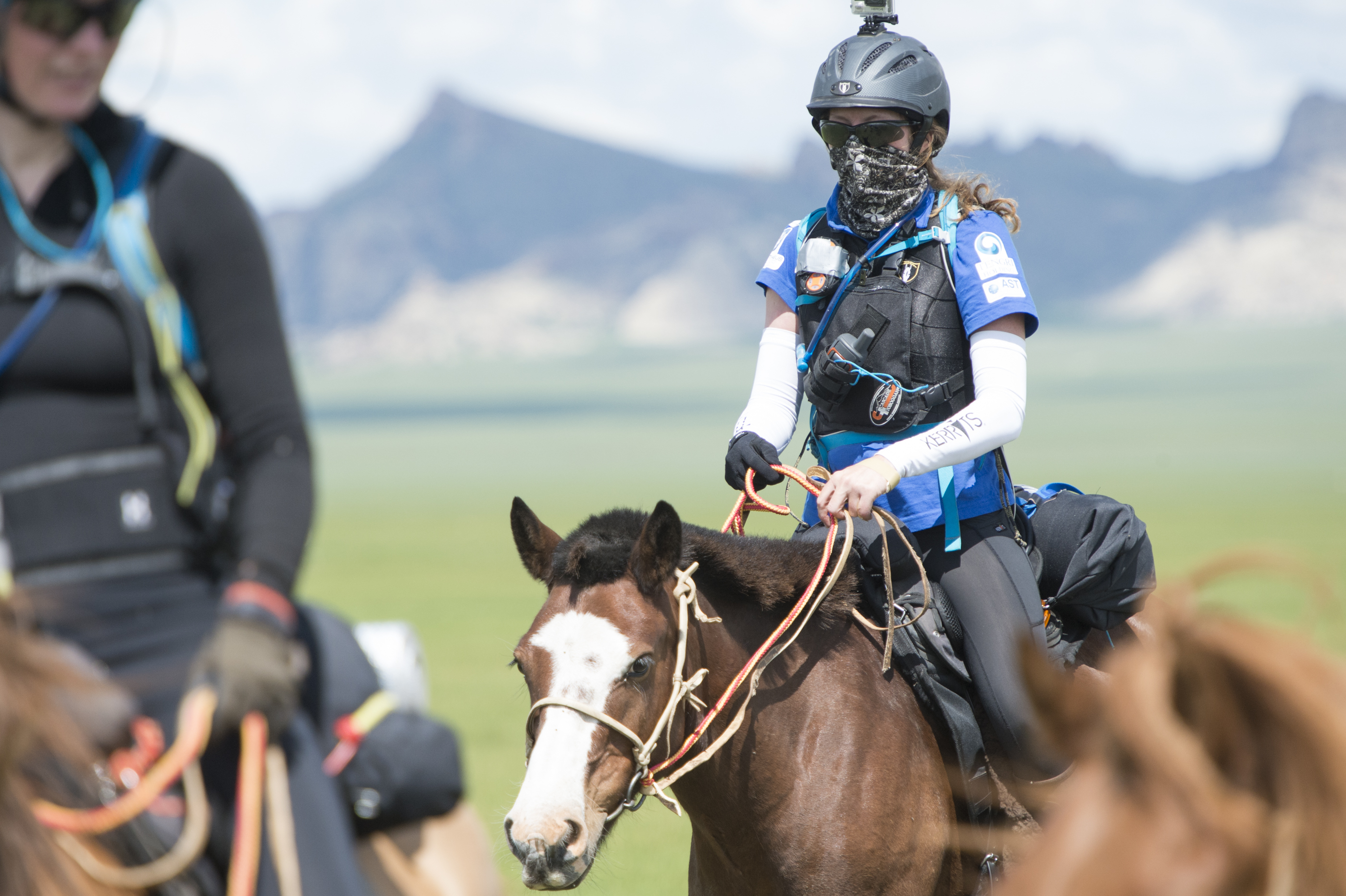Mongol Derby 2015 finalist Liz Brown Photos Saskia Marloh