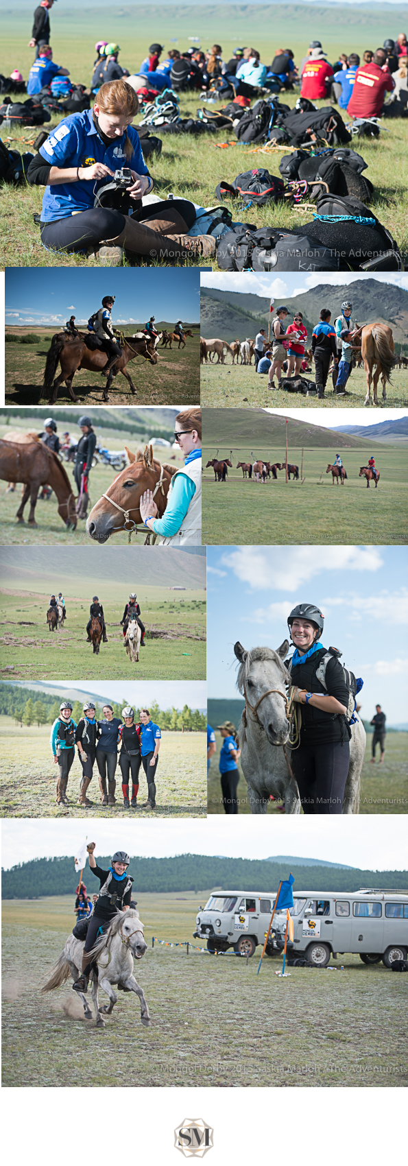 Mongol derby 2015 finalist Kat Withney Photos Saskia Marloh-1