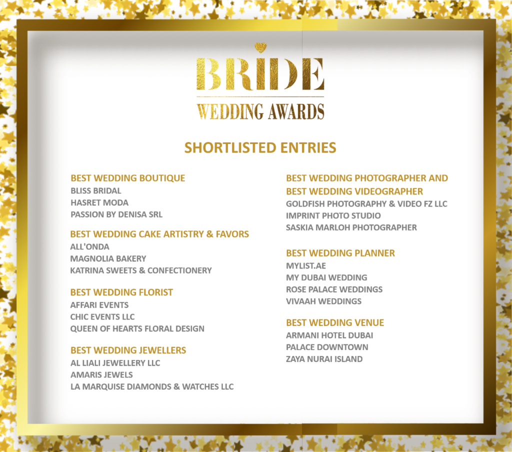 2020 BRIDE WEDDING AWARDS DUBAI SHORTLISTED SASKIA MARLOH PHOTOGRAPHER